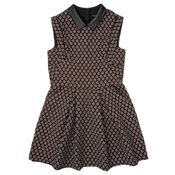 textil Pige Korte kjoler Ikks XR30212 Sort
