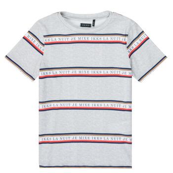 textil Dreng T-shirts m. korte ærmer Ikks XR10003 Grå