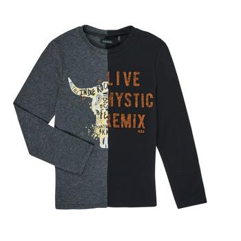 textil Dreng Langærmede T-shirts Ikks XR10143 Grå
