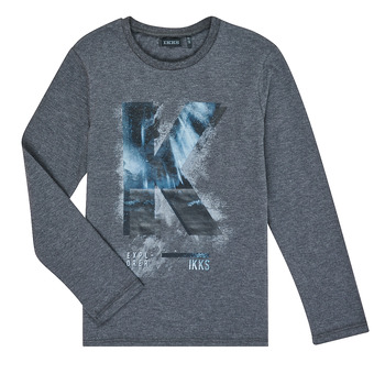 textil Dreng Langærmede T-shirts Ikks XR10203 Grå