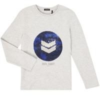 textil Dreng Langærmede T-shirts Ikks XR10273 Grå