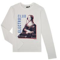 textil Dreng Langærmede T-shirts Ikks XR10333 Hvid