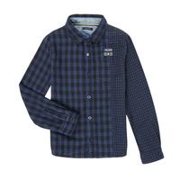 textil Dreng Skjorter m. lange ærmer Ikks XR12123 Blå