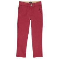 textil Dreng Lærredsbukser Ikks XR22093 Rød