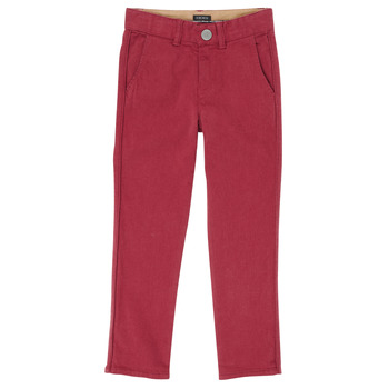 textil Dreng Lærredsbukser Ikks XR22093J Rød
