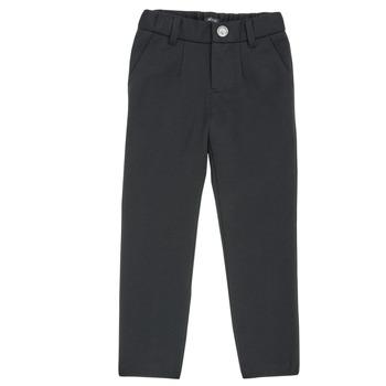 textil Dreng Lærredsbukser Ikks XR23023 Sort