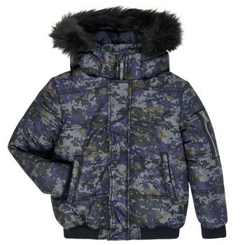textil Dreng Dynejakker Ikks XR41133 Blå