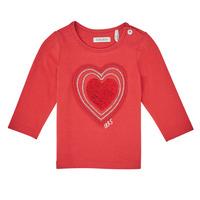 textil Pige Langærmede T-shirts Ikks XR10010 Orange