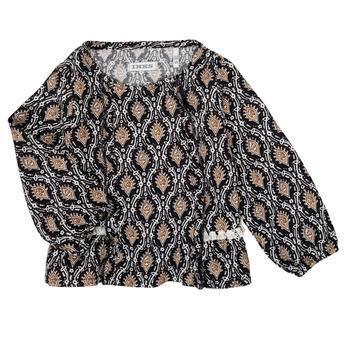 textil Pige Skjorter / Skjortebluser Ikks XR12020 Sort
