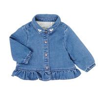 textil Pige Skjorter / Skjortebluser Ikks XR12030 Blå