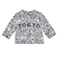 textil Pige Sweatshirts Ikks XR15020 Hvid