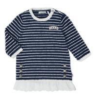 textil Pige Korte kjoler Ikks XR30030 Hvid