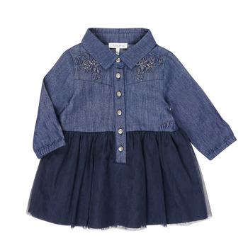 textil Pige Korte kjoler Ikks XR30150 Blå
