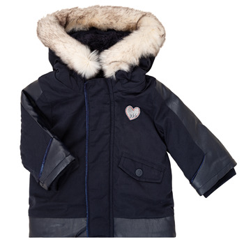 textil Pige Parkaer Ikks XR42000 Blå