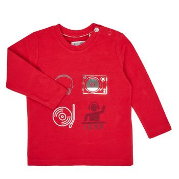 textil Dreng Langærmede T-shirts Ikks XR10011 Rød