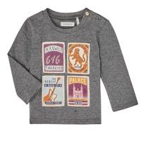 textil Dreng Langærmede T-shirts Ikks XR10081 Grå