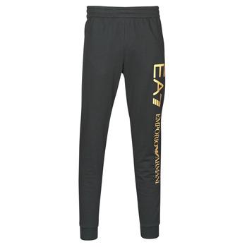 textil Herre Træningsbukser Emporio Armani EA7 TRAIN LOGO SERIES M PANTS Sort