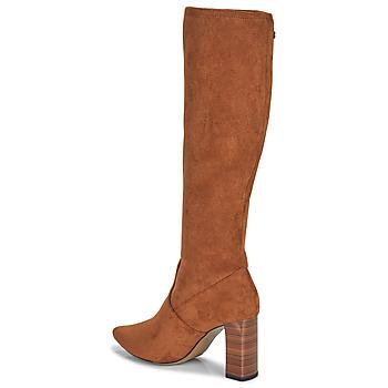 Sko Dame Chikke støvler Caprice 25501-364 Cognac