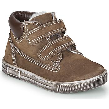 Sko Dreng Høje sneakers Chicco CLAY Brun
