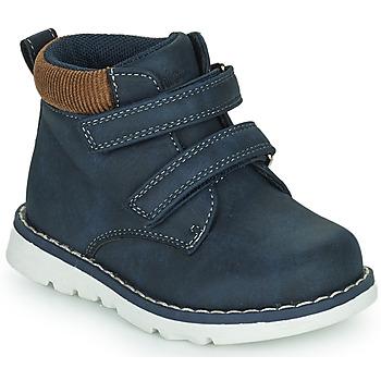 Sko Dreng Høje sneakers Chicco FLOK Blå
