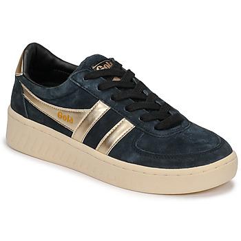 Sko Dame Lave sneakers Gola GRANDSLAM PEARL Sort / Guld