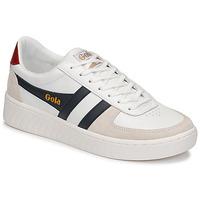 Sko Herre Lave sneakers Gola GRANDSLAM CLASSIC Hvid / Marineblå