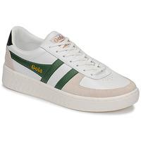 Sko Herre Lave sneakers Gola GRANDSLAM CLASSIC Hvid / Grøn