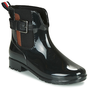 Sko Dame Gummistøvler Tom Tailor 92306-NOIR Sort