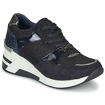 Sko Dame Lave sneakers Tom Tailor 92610-BLEU Blå