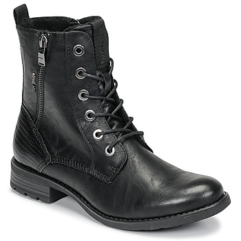 Sko Dame Støvler Tom Tailor 93303-NOIR Sort