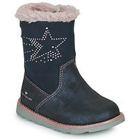 Sko Pige Chikke støvler Tom Tailor 72307-BLEU Blå