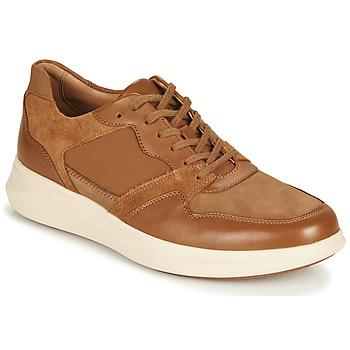 Sko Herre Lave sneakers Clarks UN GLOBE RUN Kamel
