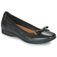 Sko Dame Højhælede sko Clarks UN DARCEY BOW Sort