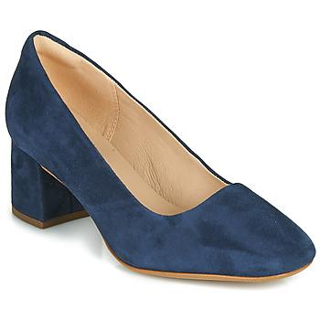 Sko Dame Højhælede sko Clarks SHEER ROSE 2 Marineblå