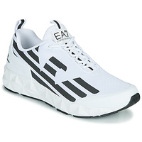 Sko Herre Lave sneakers Emporio Armani EA7 XCC52 Hvid / Sort