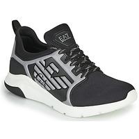 Sko Herre Lave sneakers Emporio Armani EA7 XCC55 Sort