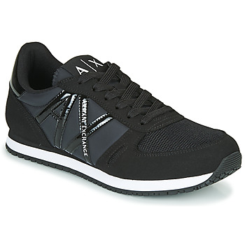 Sko Dame Lave sneakers Armani Exchange XCC62-XDX031 Sort