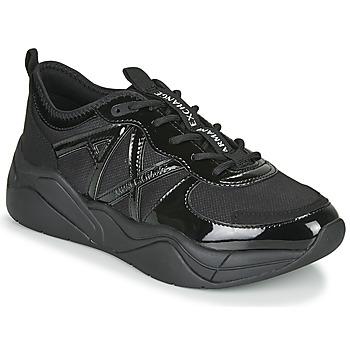 Sko Dame Lave sneakers Armani Exchange XV311-XDX039 Sort