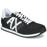 Sko Herre Lave sneakers Armani Exchange XCC68-XUX017 Sort