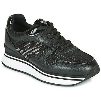 Sko Dame Lave sneakers Emporio Armani X3X046-XM547 Sort