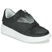 Sko Børn Lave sneakers Emporio Armani XYX014-XOI08 Sort