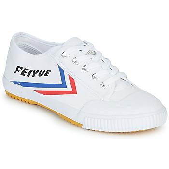 Sko Lave sneakers Feiyue FE LO 1920 Hvid / Blå / Rød