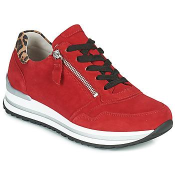 Sko Dame Lave sneakers Gabor 5652838 Rød