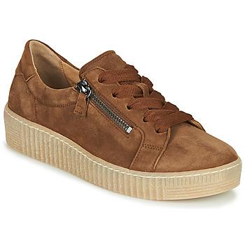 Sko Dame Lave sneakers Gabor 5333412 Kamel