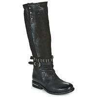 Sko Dame Chikke støvler Airstep / A.S.98 TEAL HIGH Sort