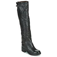 Sko Dame Chikke støvler Airstep / A.S.98 NOVA 17 HIGH Sort