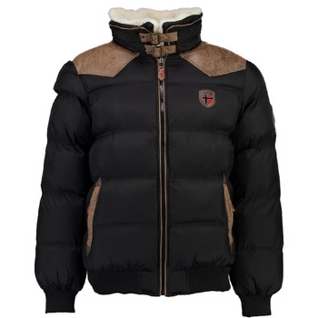 textil Dreng Dynejakker Geographical Norway ABRAMOVITCH BOY Sort