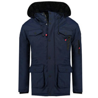 textil Dreng Parkaer Geographical Norway ALCALINE BOY Marineblå
