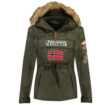 textil Dreng Parkaer Geographical Norway BARMAN BOY Kaki