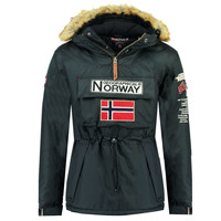 textil Dreng Parkaer Geographical Norway BARMAN BOY Marineblå